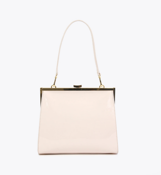 Neely & Chloe Frame Bag in Patent Leather