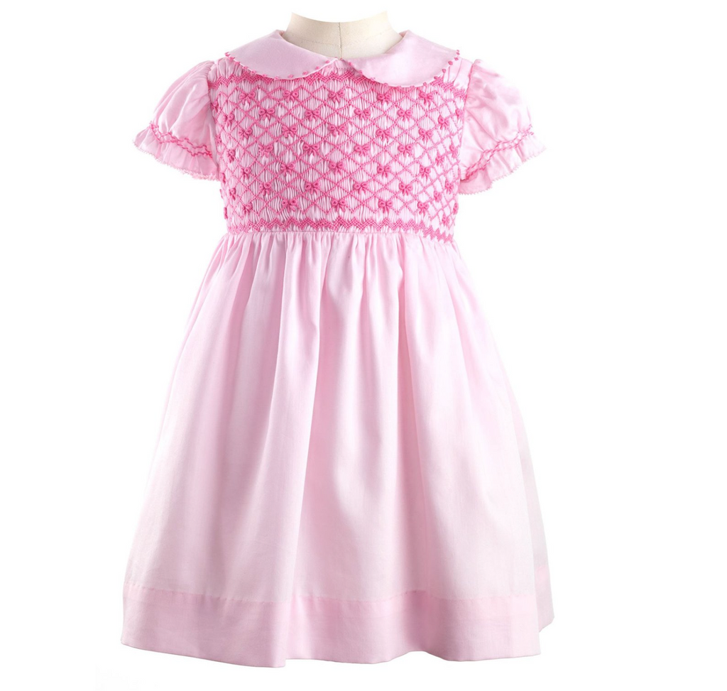Dress Bow Smocked