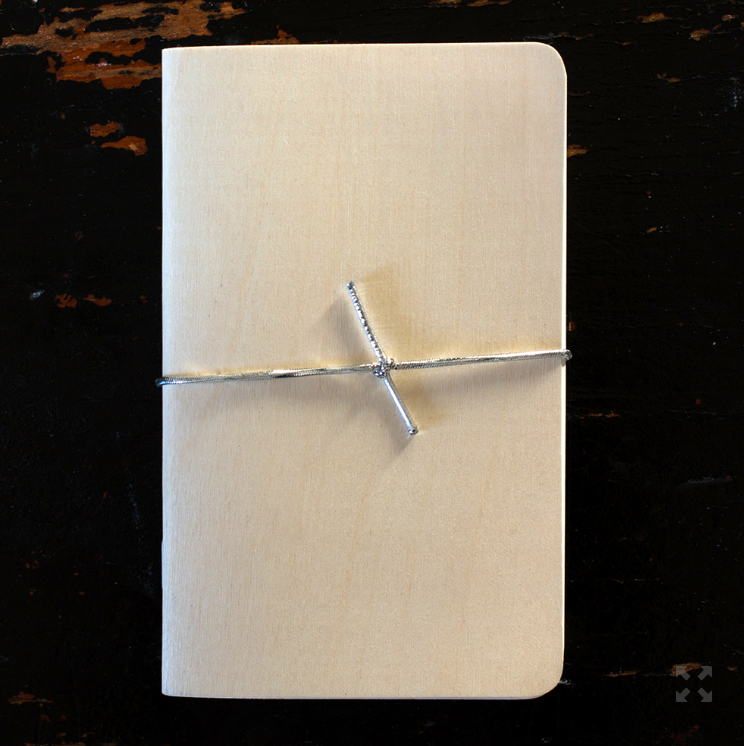Birch Wood Pocket Keepsake Journal