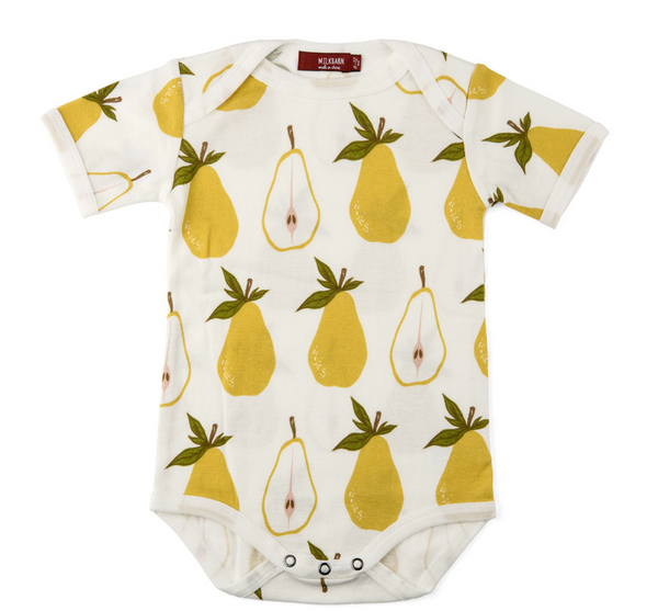 Organic One Piece - Pear