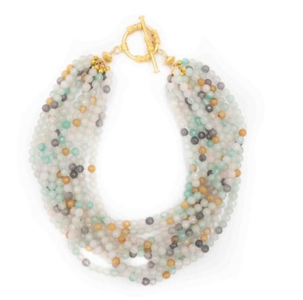 Murphy Necklace in Amazonite