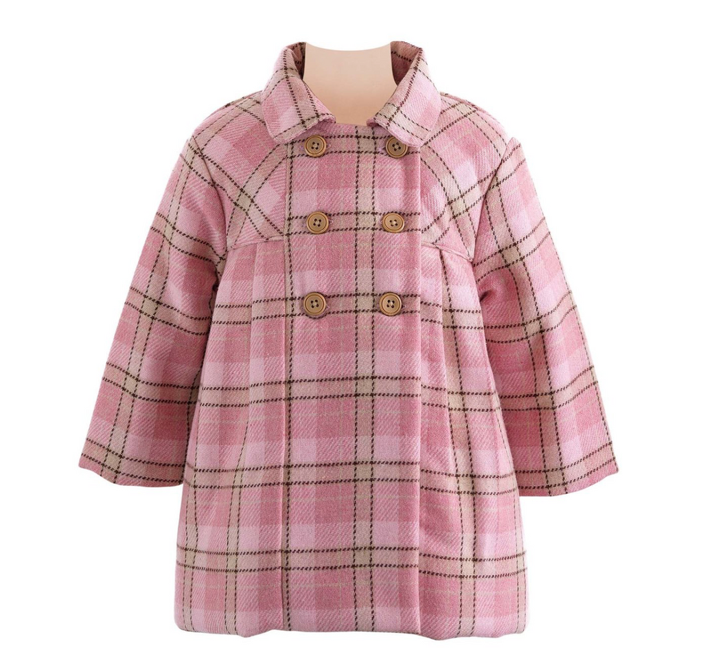 Checked Pram Coat