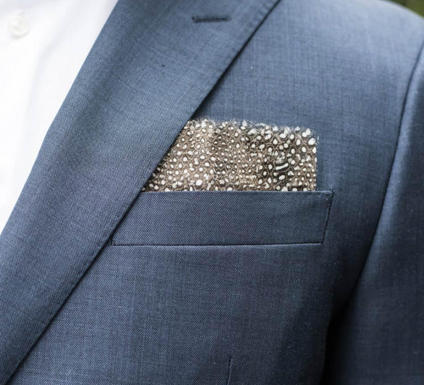 Guinea Pocket Square