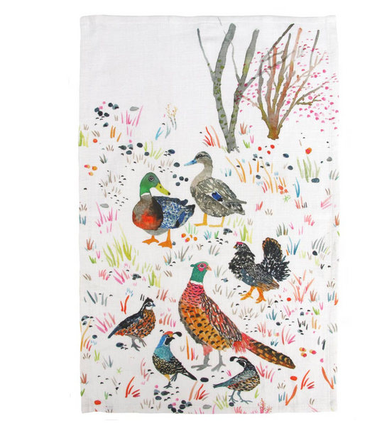 Tea Towel - Pheasant