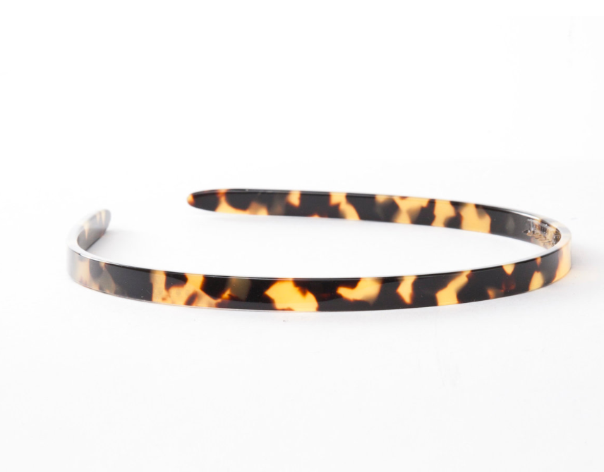 French Acetate 7mm Headbands