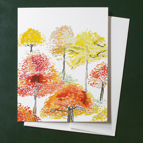 Cards Box Set - Autumn Treescape