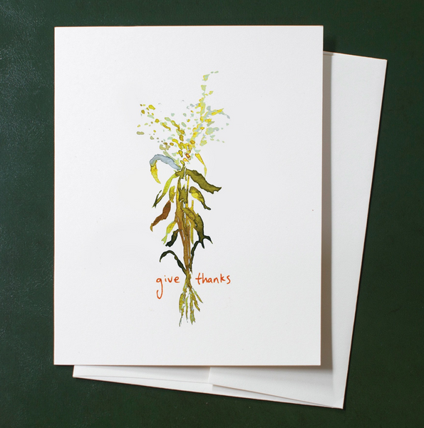 Cards Box Set - Cornstalk Give Thanks