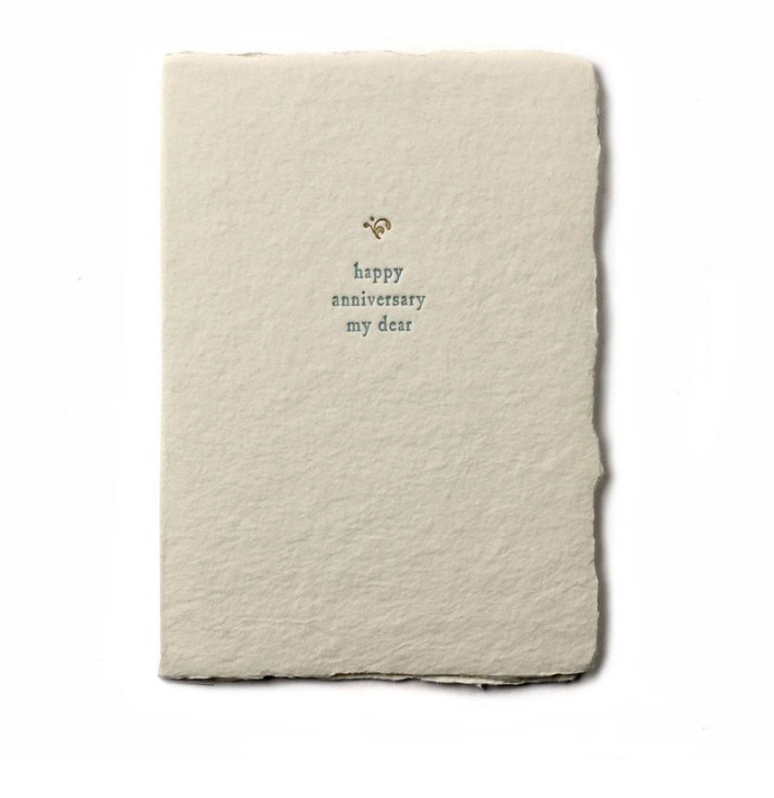 Greeting Cards - Happy Anniversary My Dear