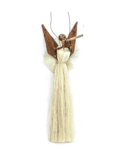 Banana Fiber & Sisal Angel Ornaments