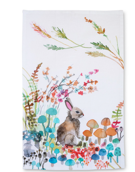Tea Towel - Woodland Bunny