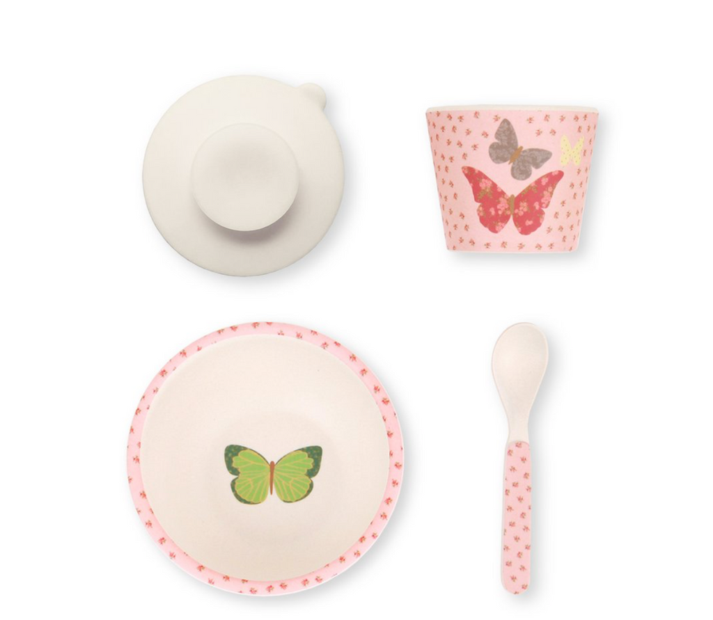 Baby Feeding Set - Butterflies