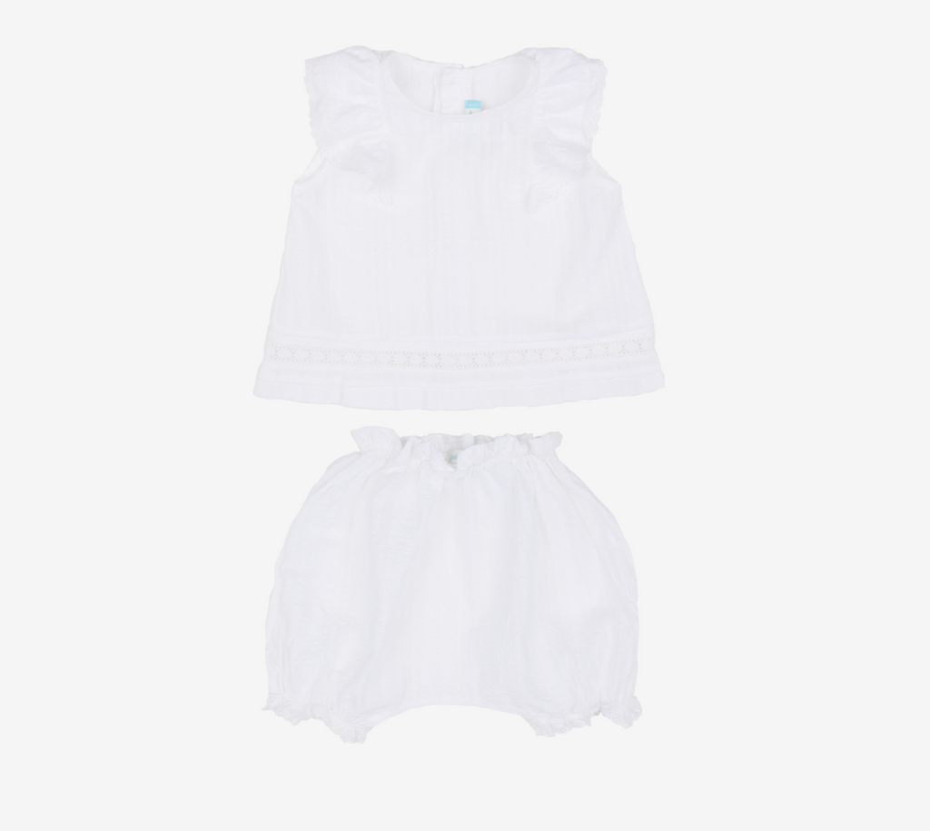 Dobby Top & Bloomer
