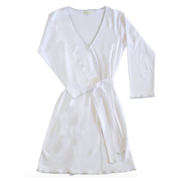 Pima Cotton Jersey Women's Robe