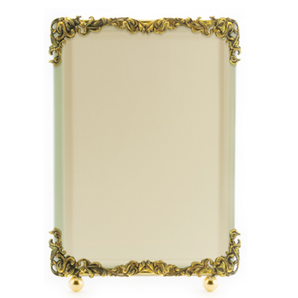 Art Nouveau Gold Picture Frame