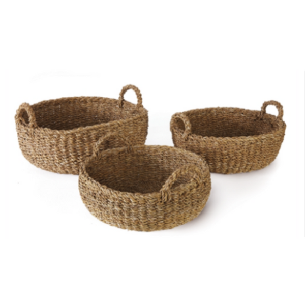 Baskets - Shallow Seagrass Baskets