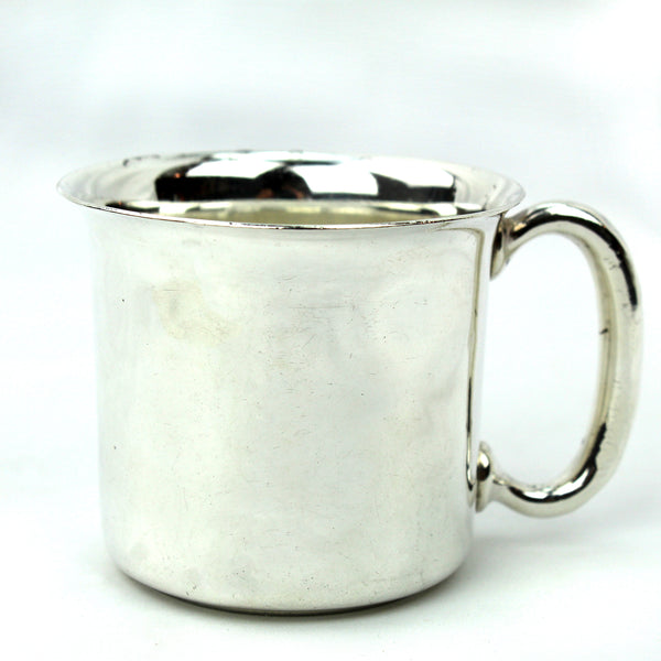 Estate Collection Sterling - Mug Baby with Flared Rim