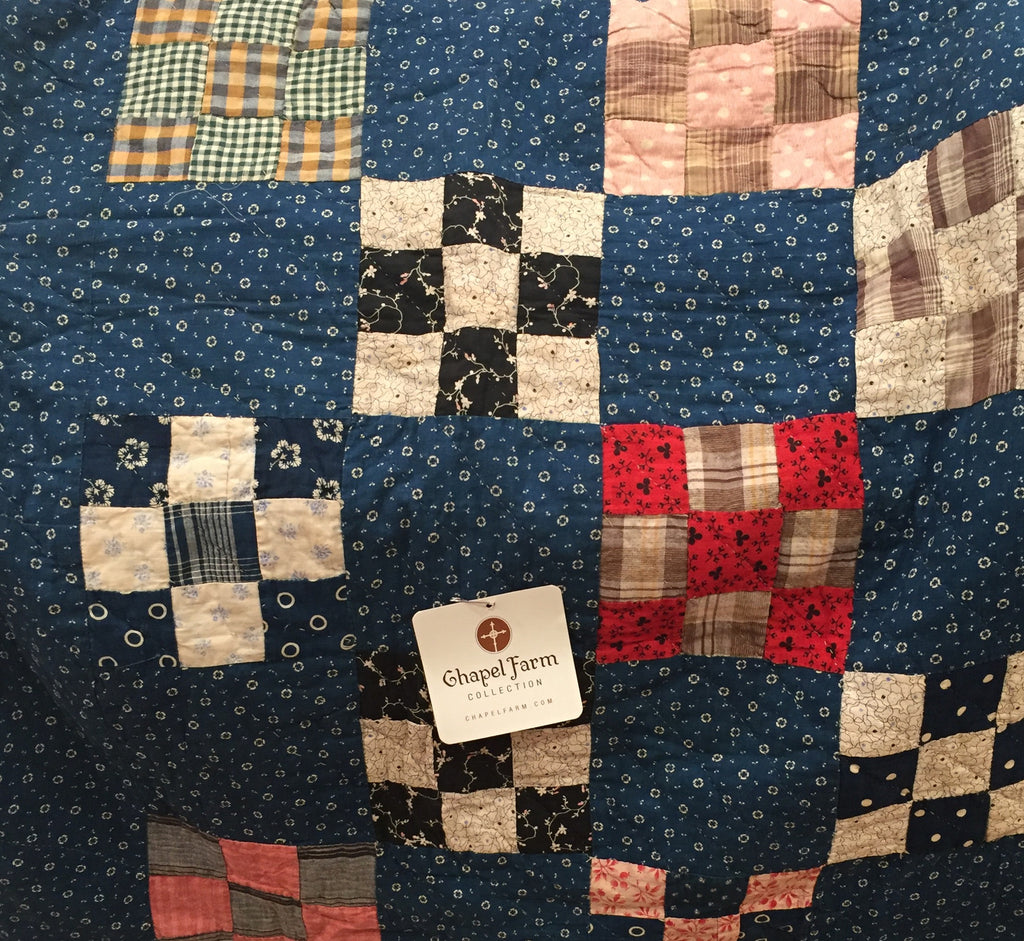 Estate Collection Quilt - 19th C Calico