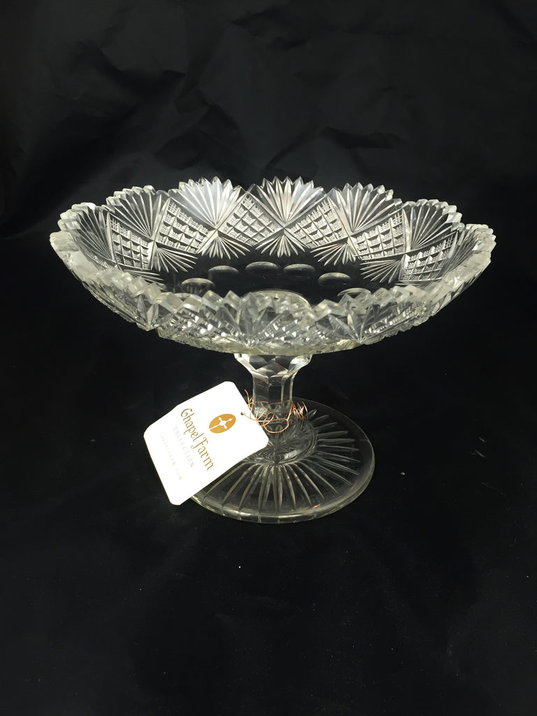 Estate Collection Compote - Antique Brilliant Cut