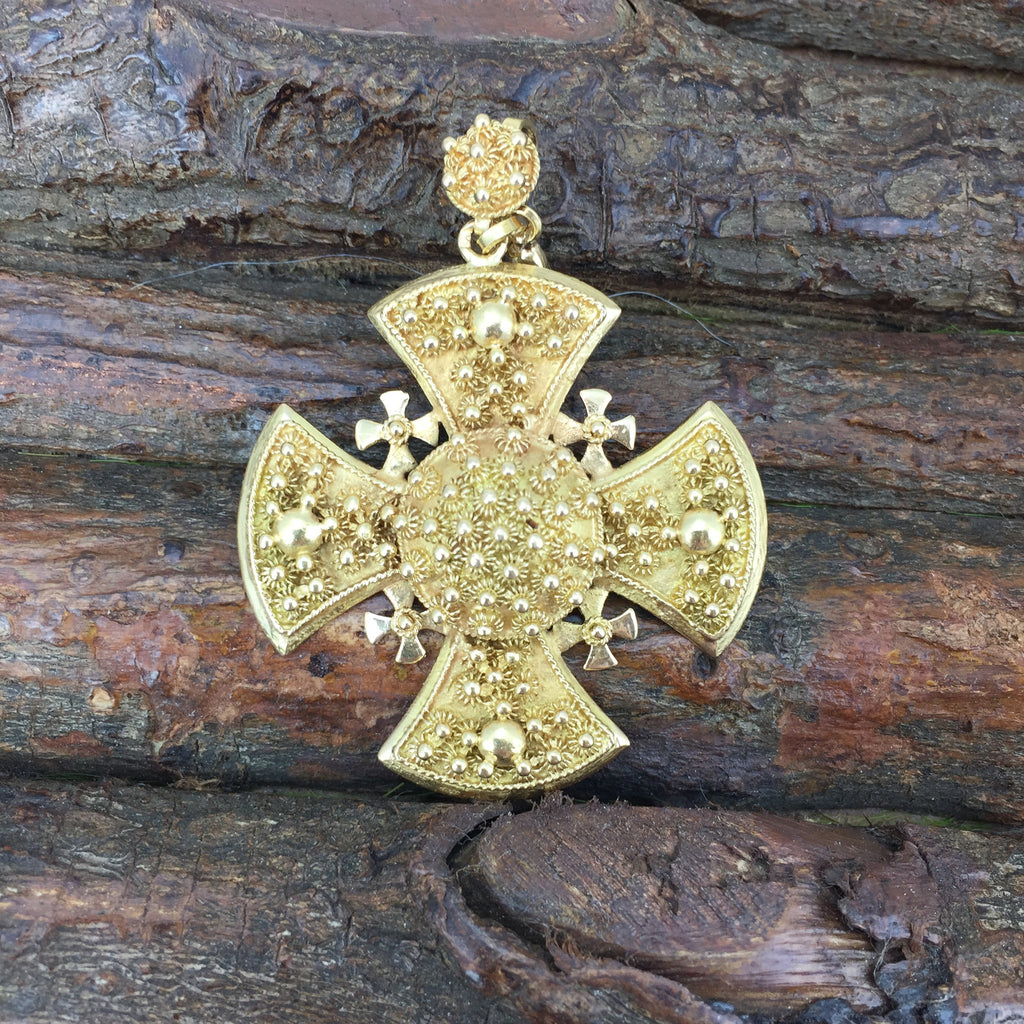 Estate Collection Antique 18th/19thC Maltese Cross