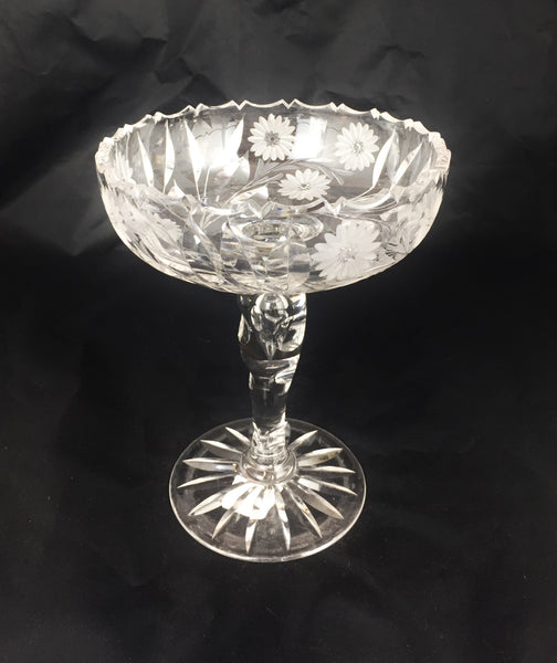 Estate Collection Compote - American Brilliant Period