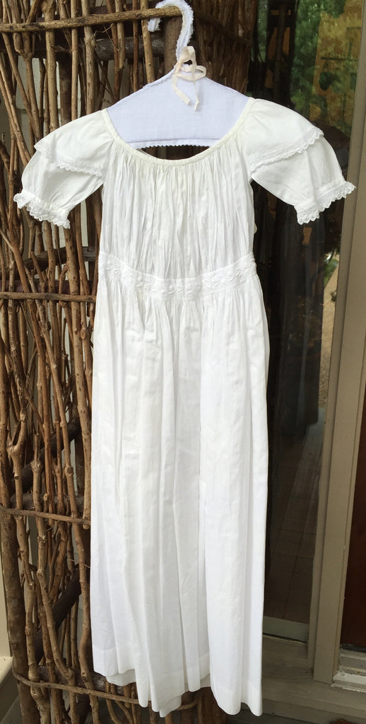 Estate Collection English Christening Gown