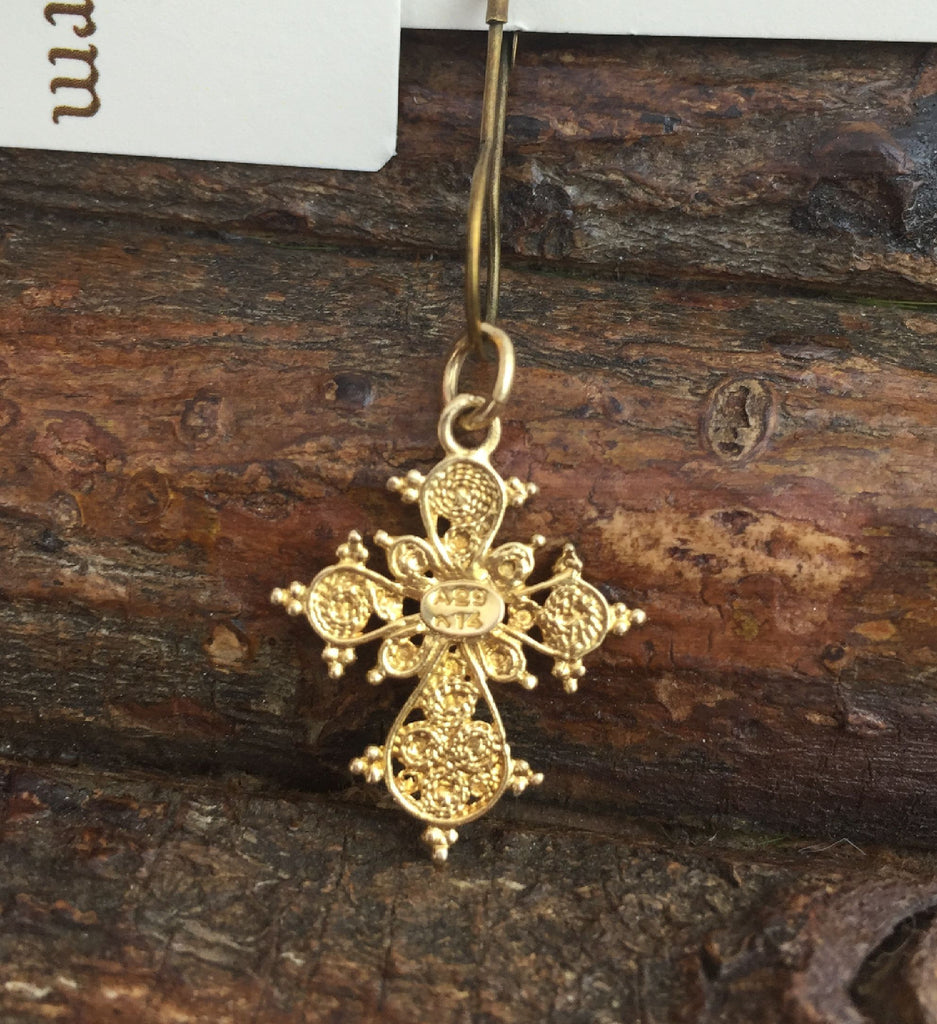 Estate Collection Antique 14K Gold Cross