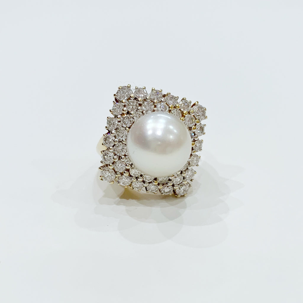 Estate Collection Ring - Classic Pearl