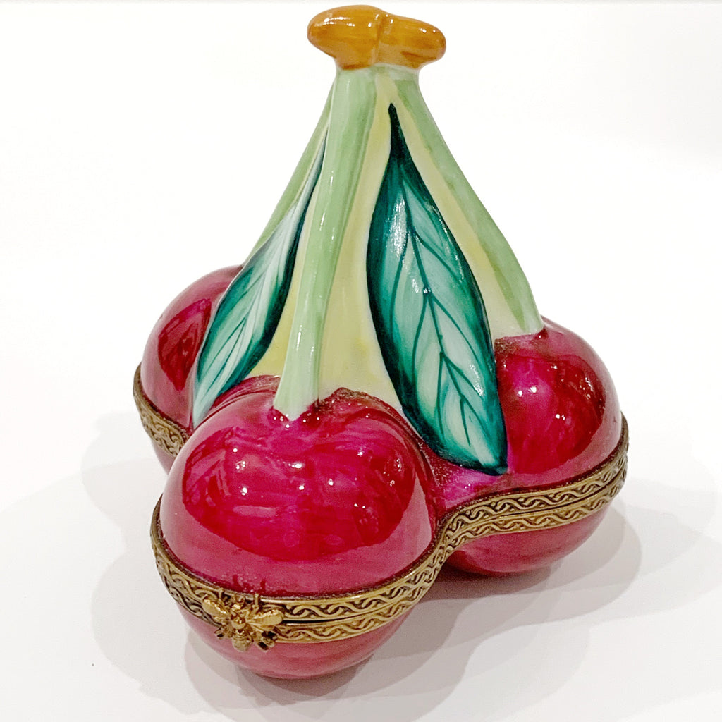 Estate Collection Boxes -  Limoges Cherries