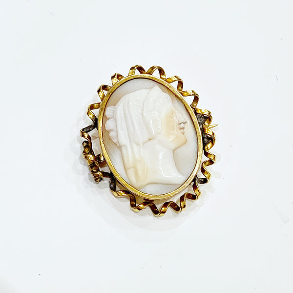 Estate Collection Cameo - Antique Brooch