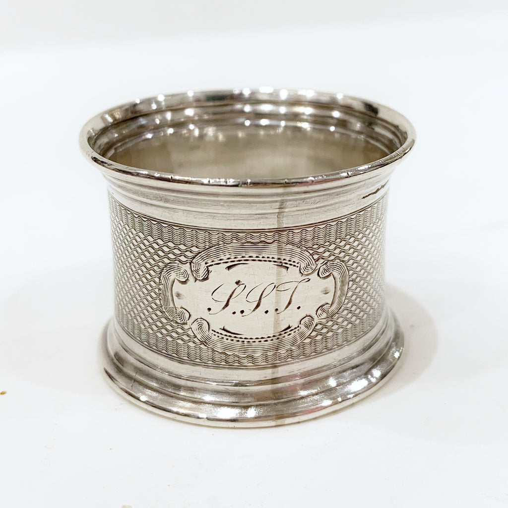 Estate Collection Sterling - Napkin Ring with Monogram