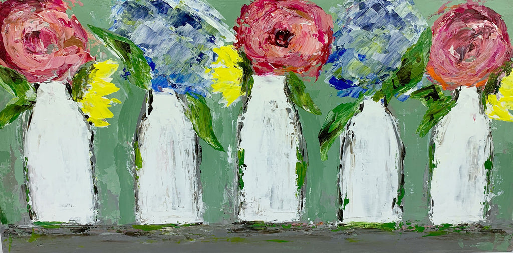 Kim Weathers - Five Vases