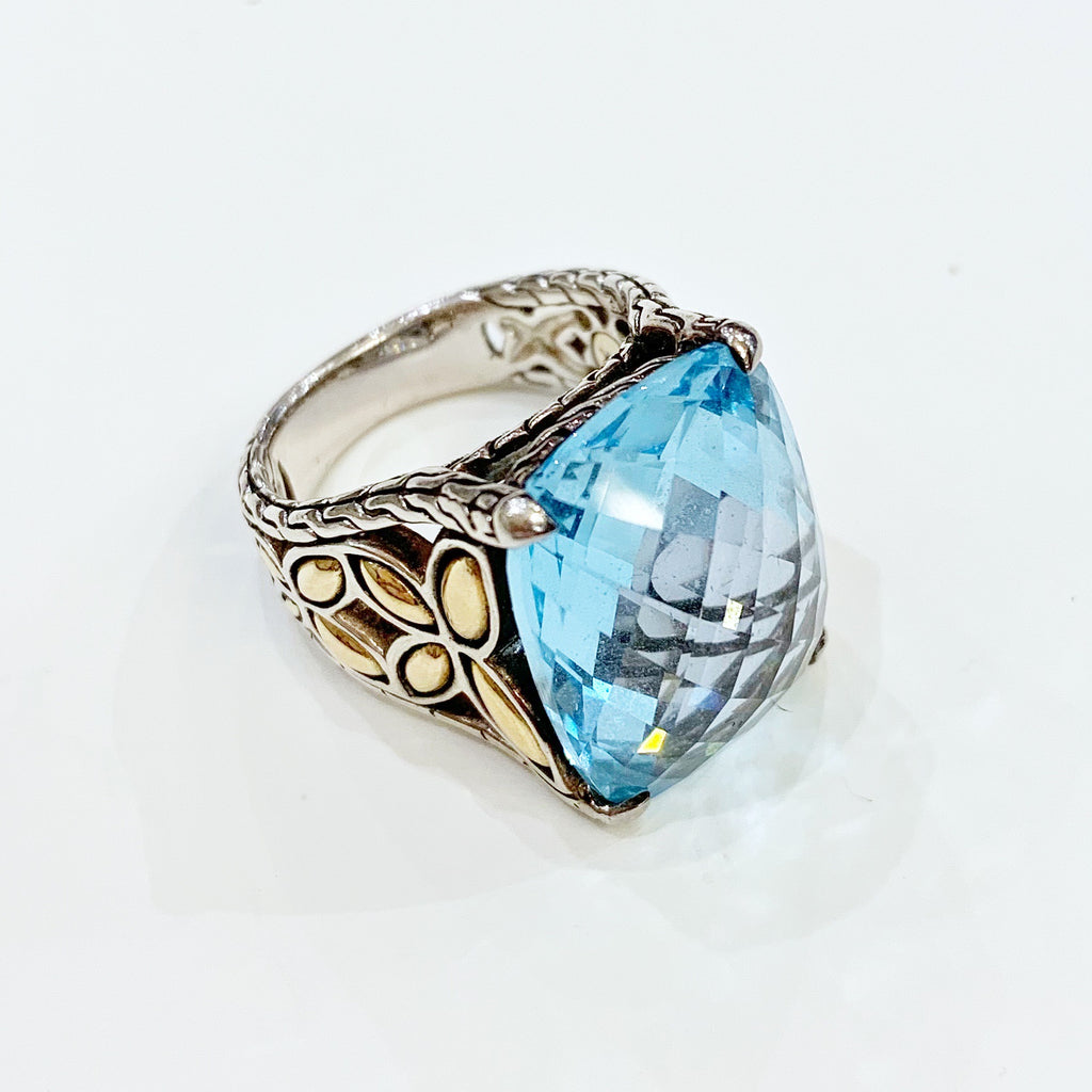 Estate Collection Ring - John Hardy Topaz