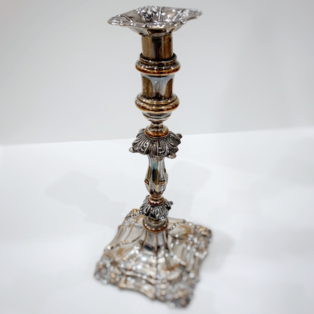 Estate Collection Silver Plate - Candlestick George II Style