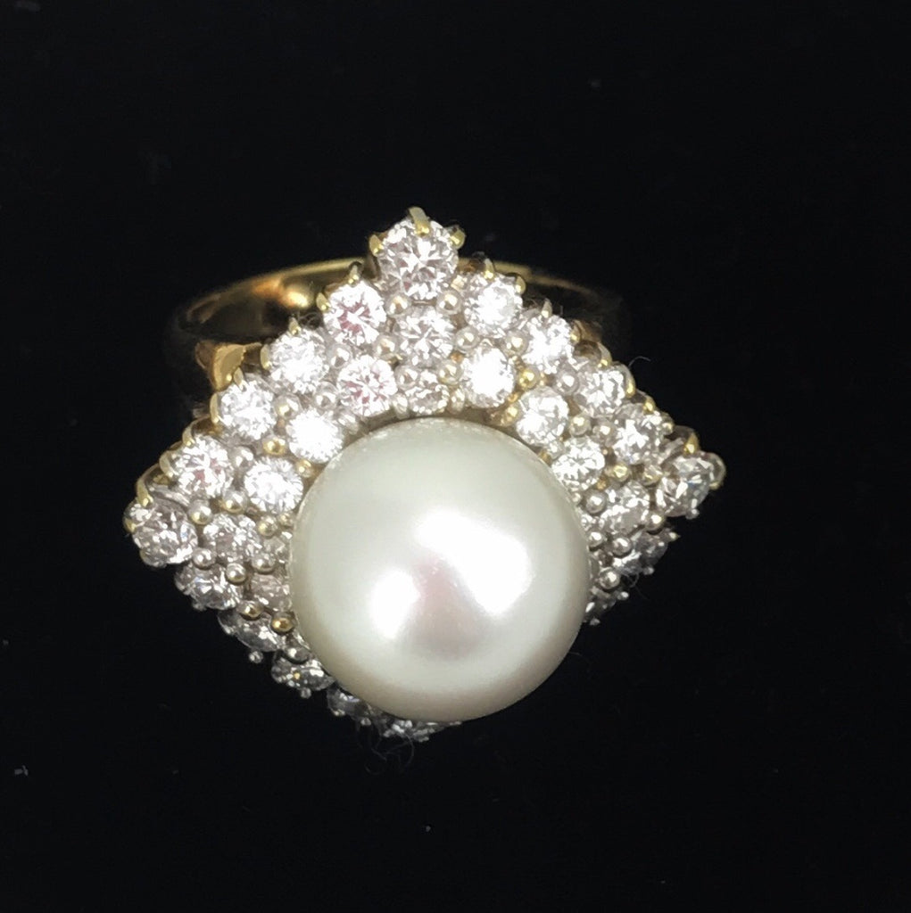 Estate Collection Classic Pearl Ring