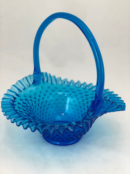 Estate Collection Hobnail Collection - Bright Blue