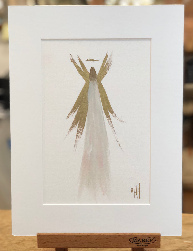 Debra Hewitt Designs Angel in Mat 9 x 12
