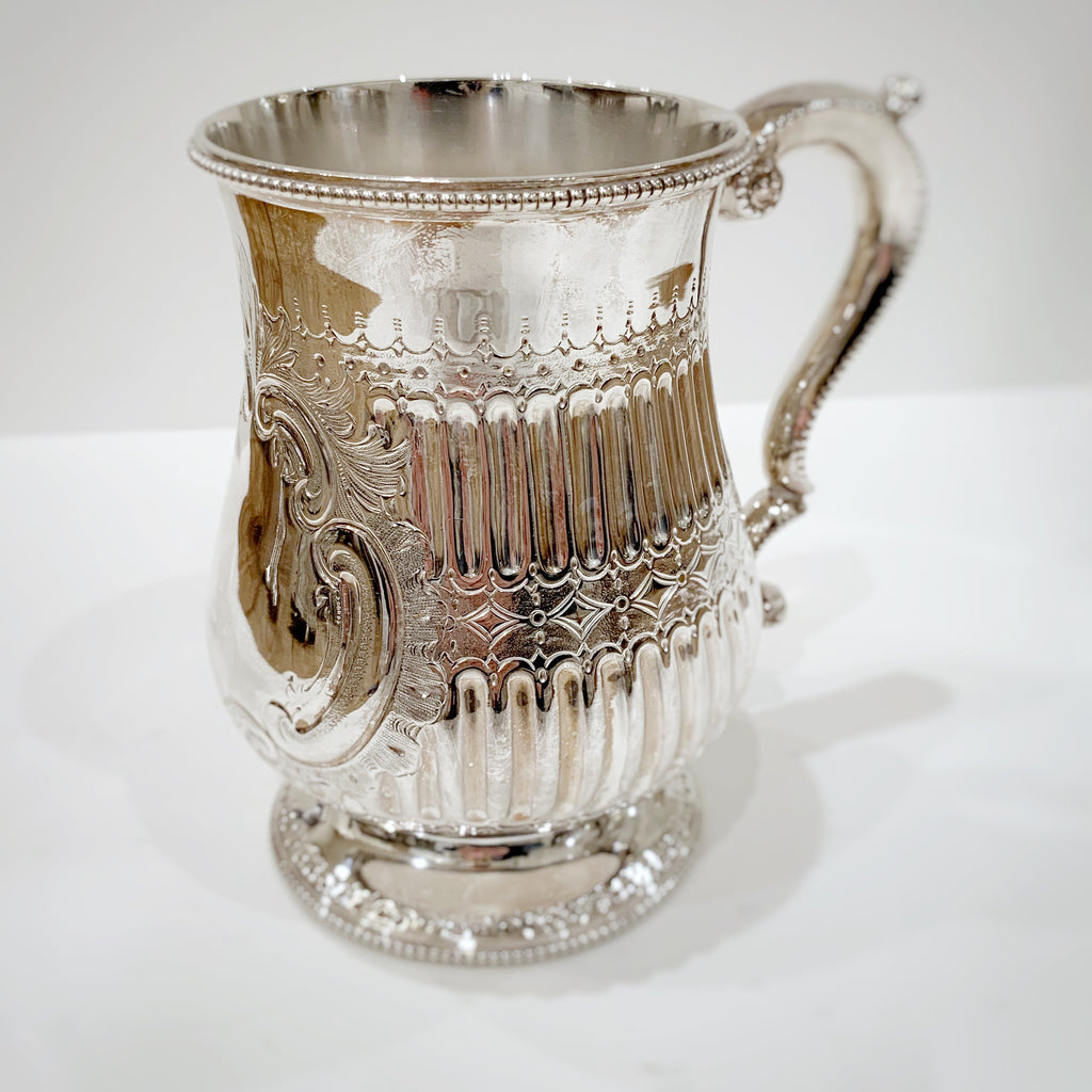 Estate Collection Silver Plate - Mug Richard Martin Ebenezer Hall & Co.