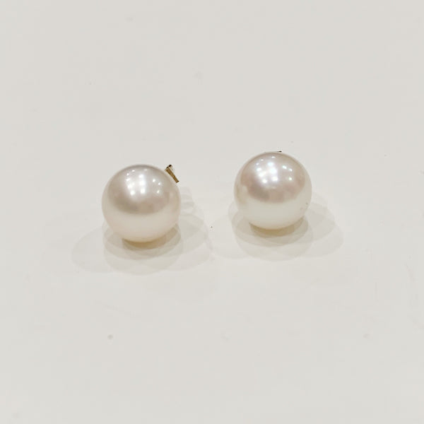 Estate Collection Earrings - Vintage Cultured Pearl Studs
