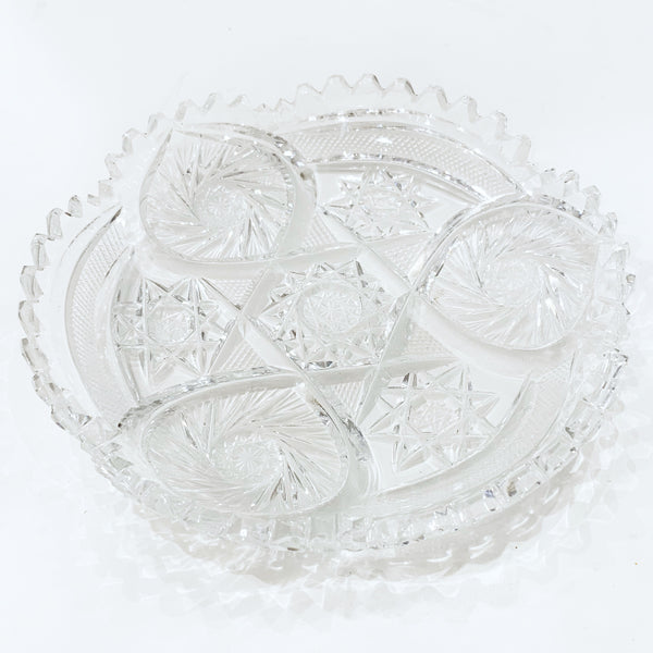 Estate Collection Crystal - Dish American Brilliant Cut
