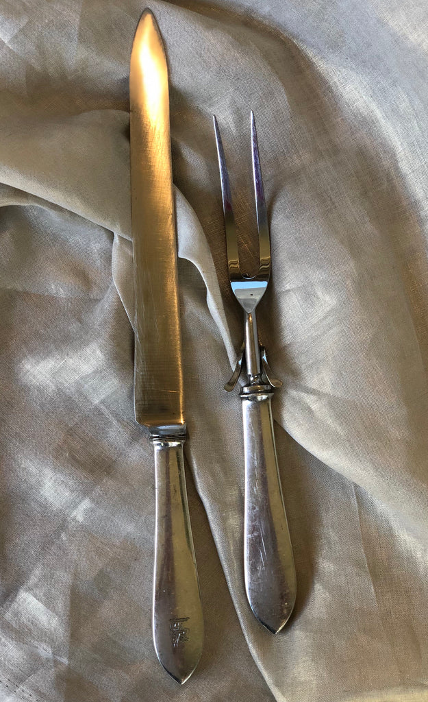 Estate Collection Vintage Tiffany & Co. Sterling Carving Set