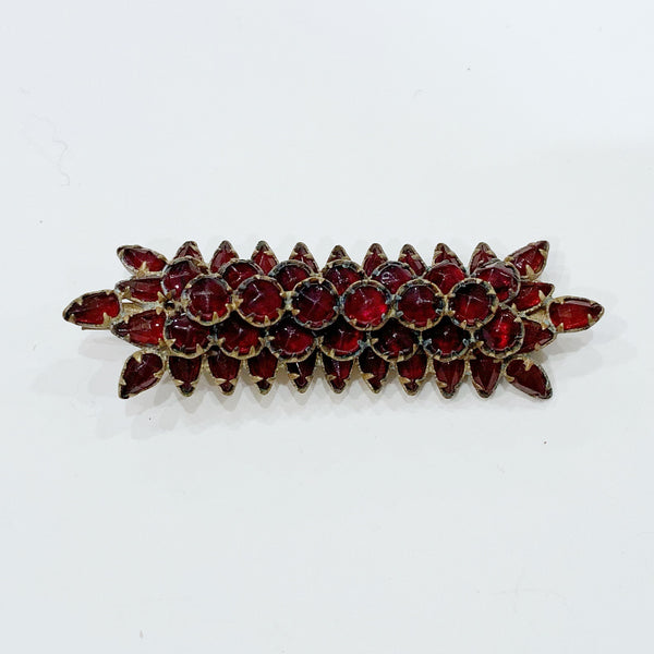 Estate Collection Brooch - Bohemian Garnet