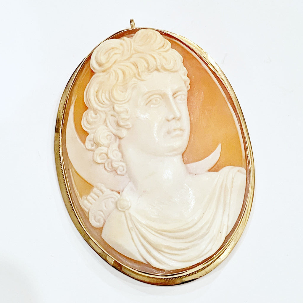 Estate Collection Cameo - 14 K Yellow Gold Antique