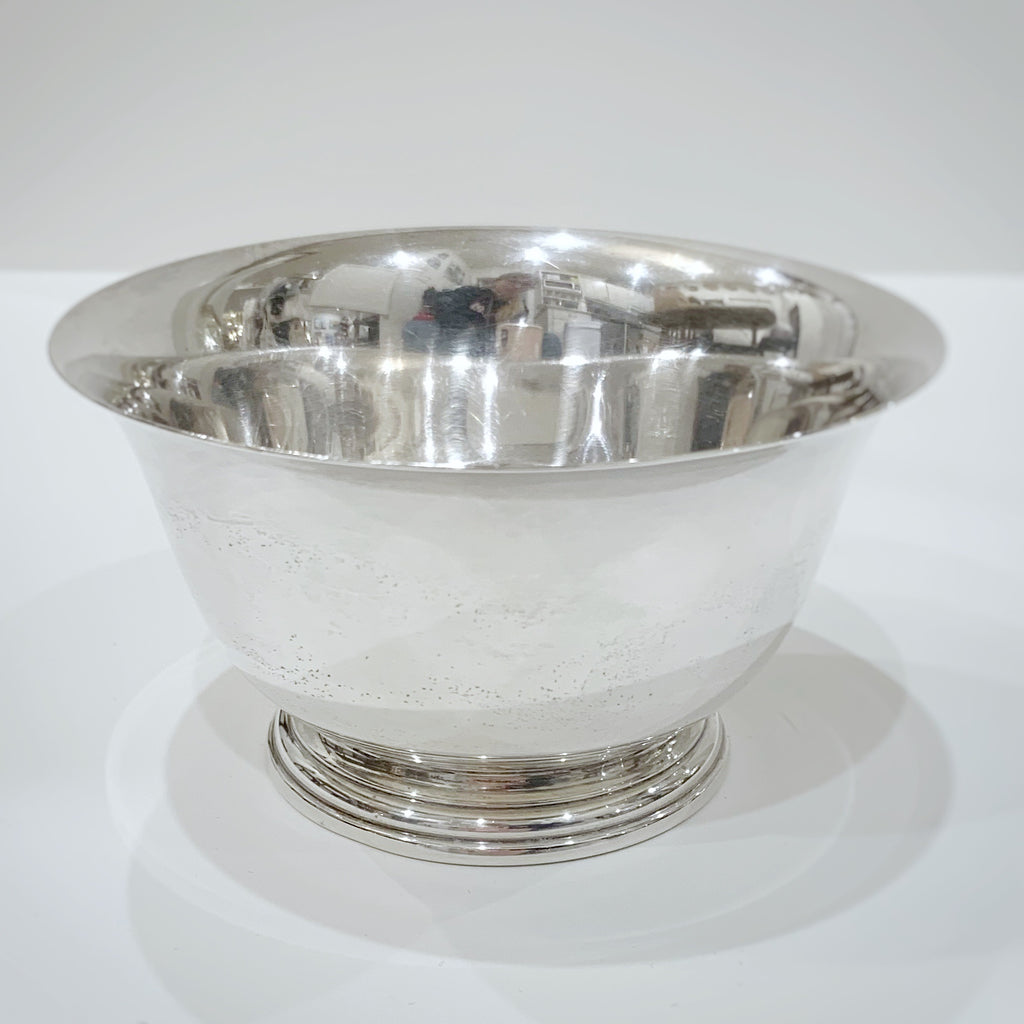 Estate Collection Sterling - Bowl Manchester Sterling Paul Revere Reproduction