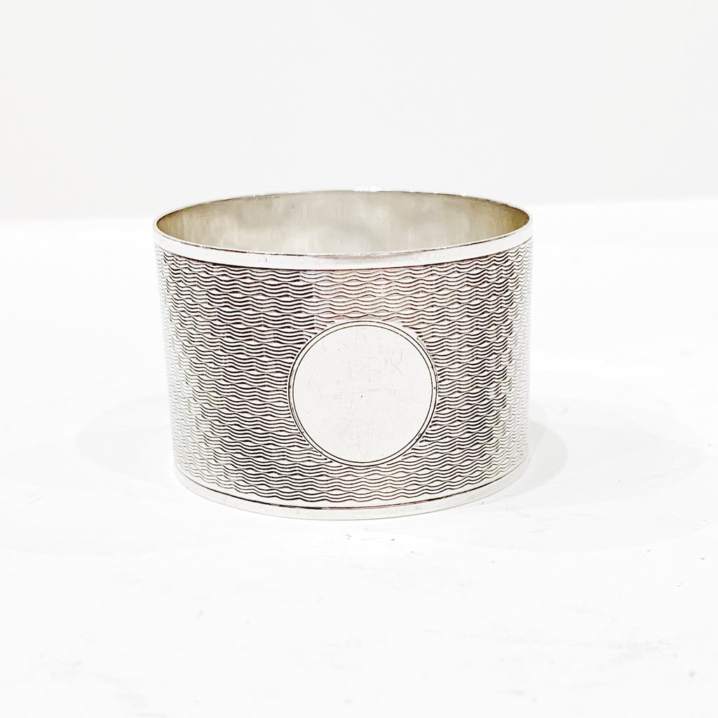 Estate Collection Silver Plate - Napkin Ring Beddoes & Co.