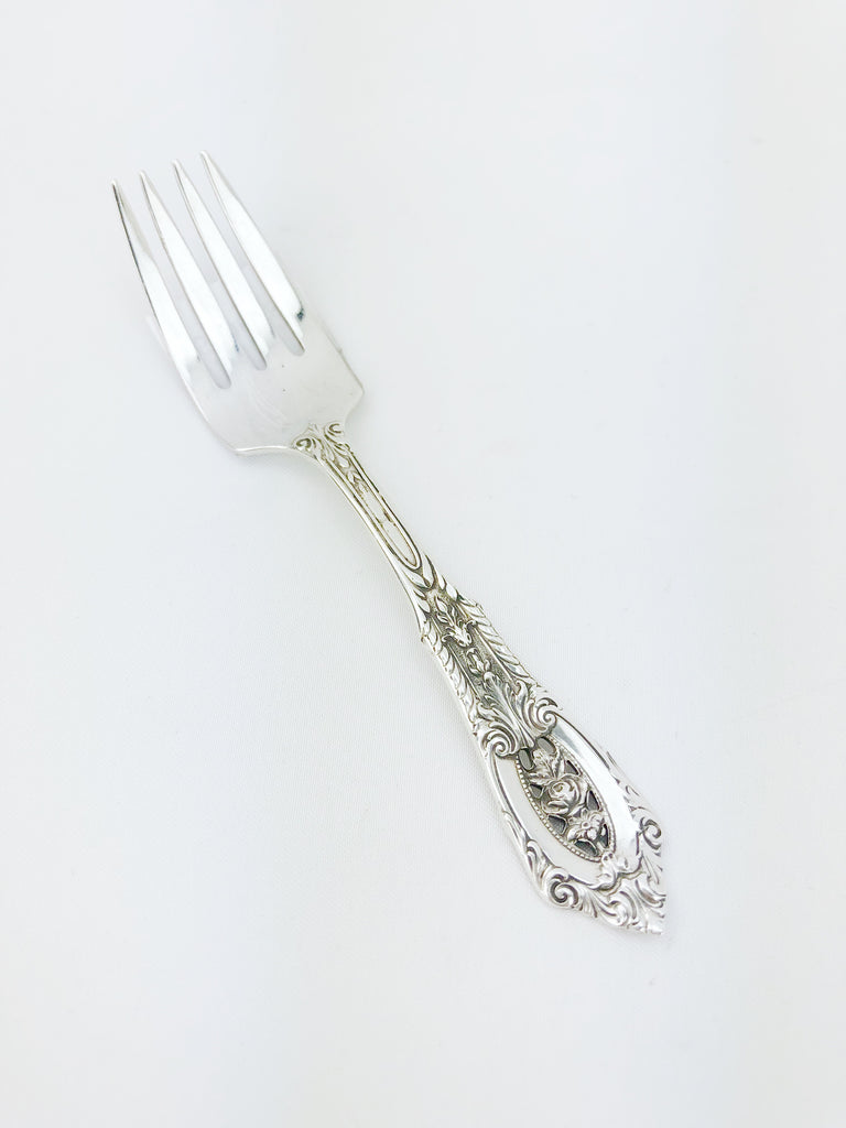 "Estate Collection Baby Sterling - Fork"" Rose Point """