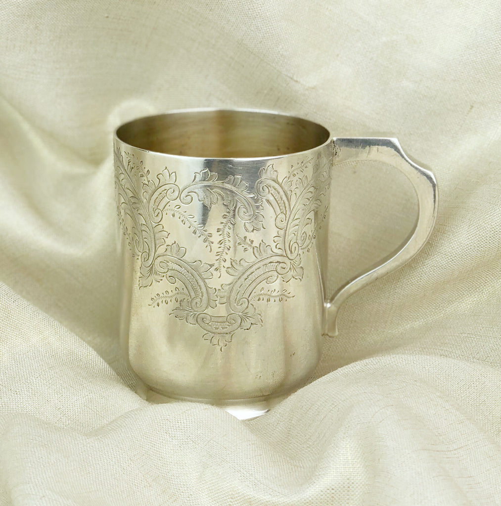 Estate Collection Baby Silver Plate - Mug by Walker & Hall