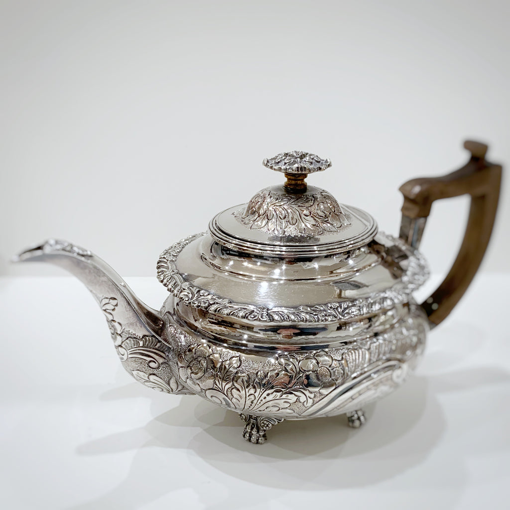 Estate Collection Silver Plate - Teapot Antique George III