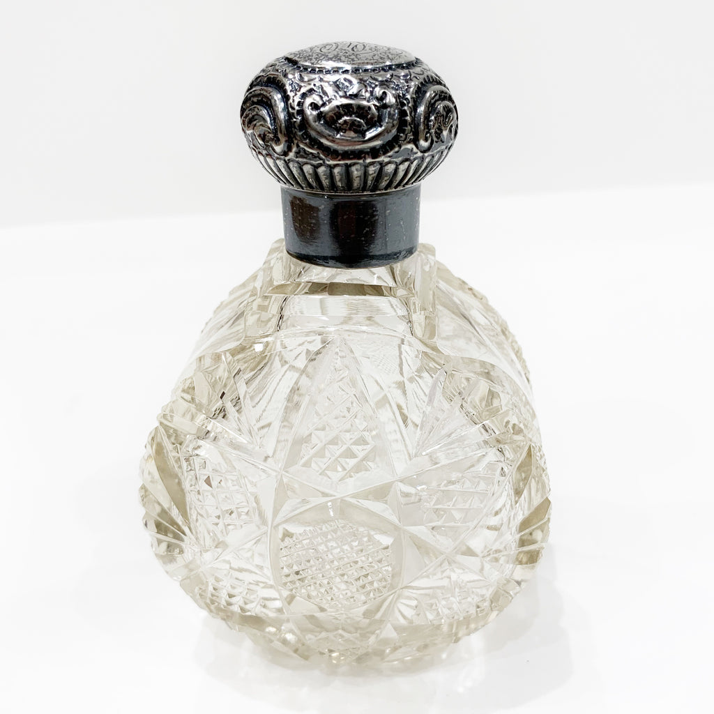 Estate Collection Perfume Bottle - Antique Crystal