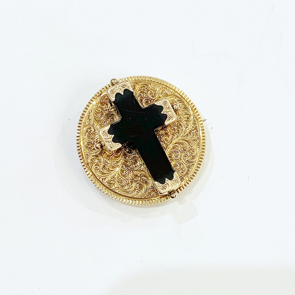 Estate Collection Brooch - Antique Cross