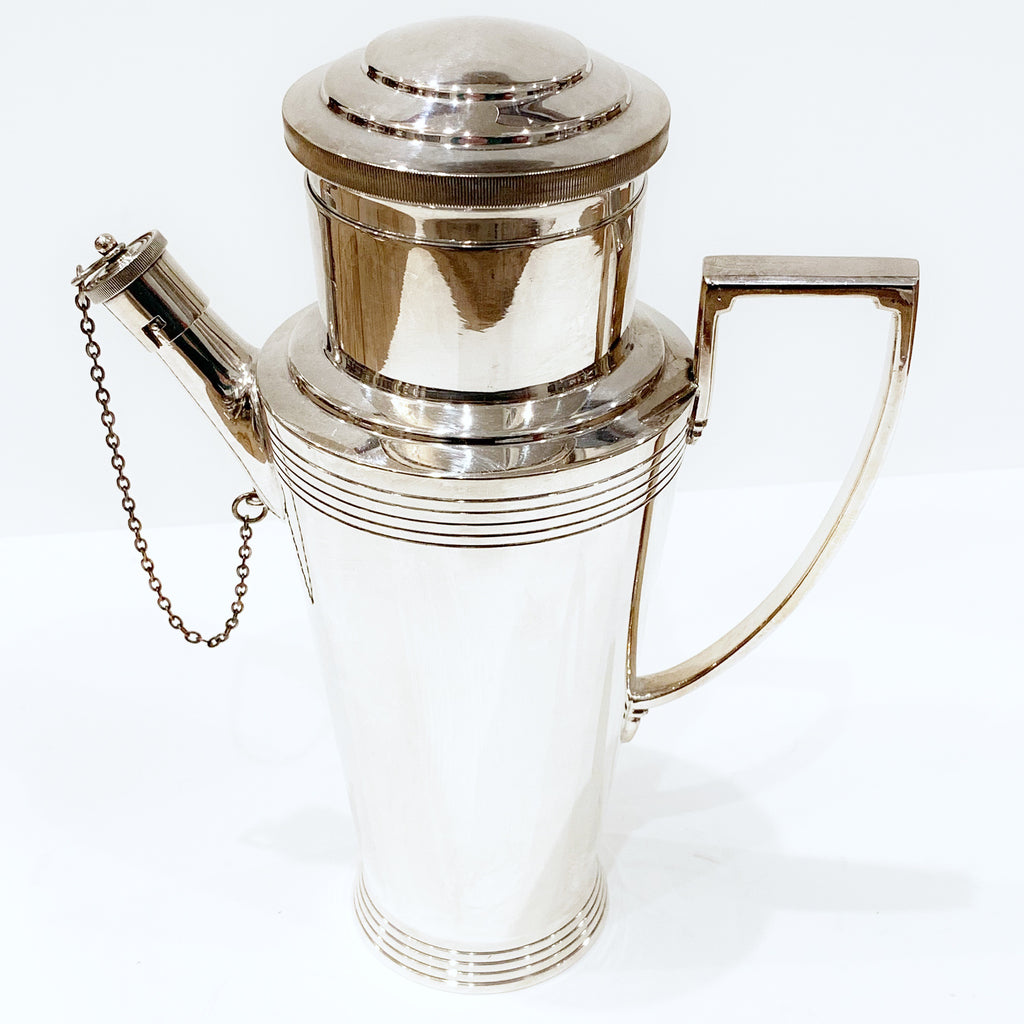 Estate Collection Silver Plate - Cocktail Shaker Keith Murray Mappin & Webb